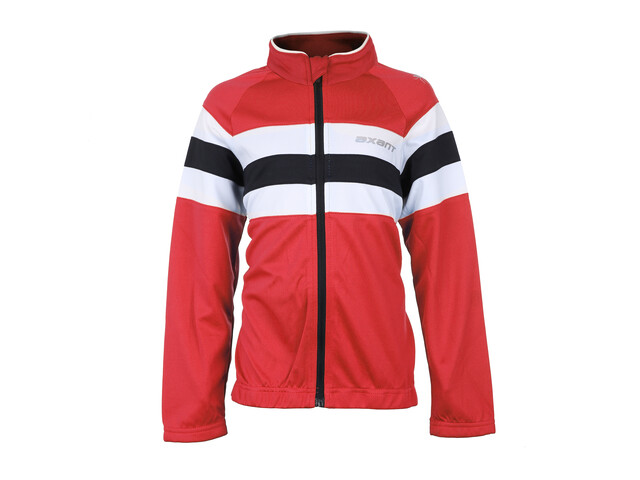 axant Expert Thermo Langærmet cykeltrøje Børn rød